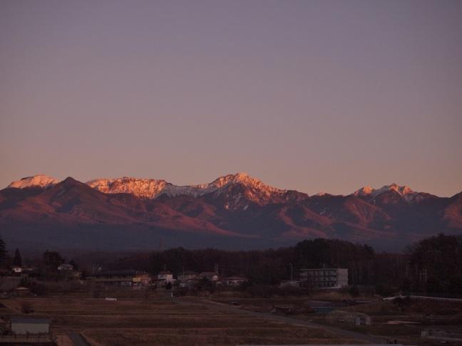 八ヶ岳のアーベント グリューエン