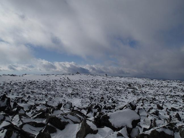 蓼科山山頂 2017年1月4日